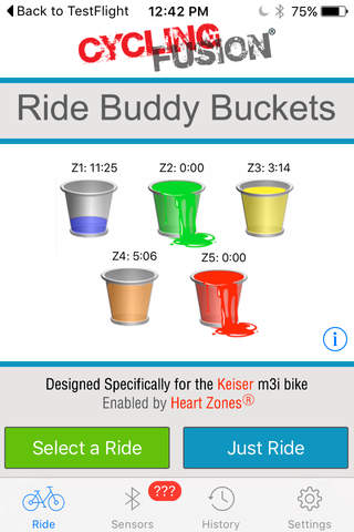 Ride Buddy Buckets - náhled