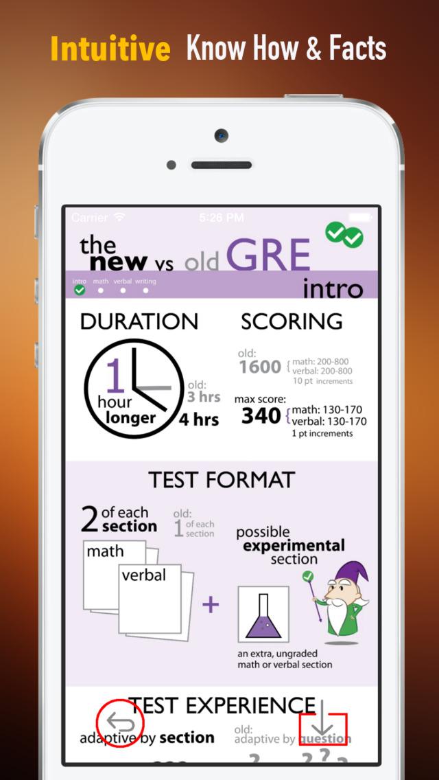 GRE Study Guide: Exam Prep Courses with Glossary screenshot 1