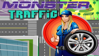 Moster Traffic Rush - Ilegal Race screenshot 1