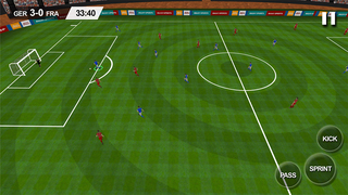 Real Soccer 2016 - Euro 2016 edition ultimate football championships and leagues to win a cup for nation simulation game by Bulky Sports screenshot 1