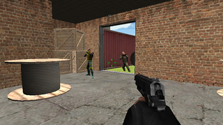 VR City Crime Terror Attack screenshot 4