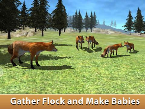 Wild Fox Survival Simulator 3D Full screenshot 6