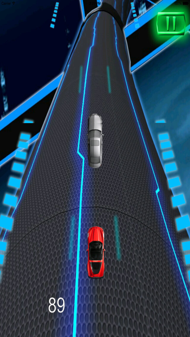 A Extreme Race Neon - Amazing Speed Light Car screenshot 4