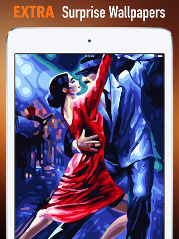Tango Wallpapers HD: Quotes Backgrounds with Art Pictures screenshot 8