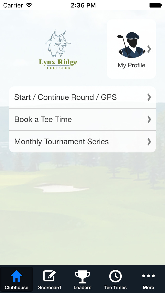 Lynx Ridge Golf Club screenshot 2