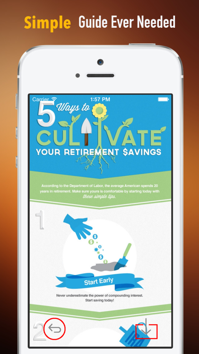 Retirement Savings Guide:Tips and Tutorial screenshot 2