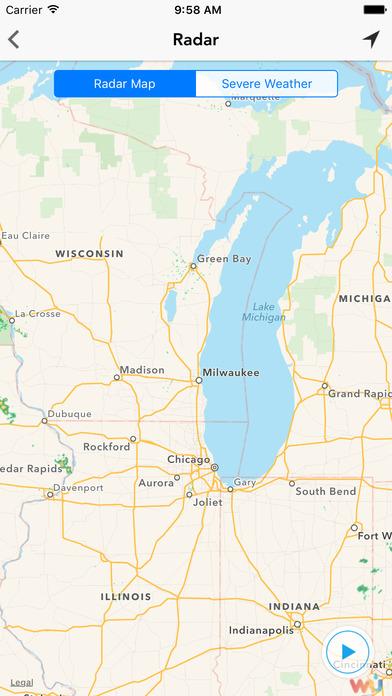 MKE wx Milwaukee Weather Forecast Traffic Radar appPicker