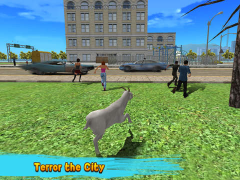 City Goat: Animal Survival Simulator 3D screenshot 5