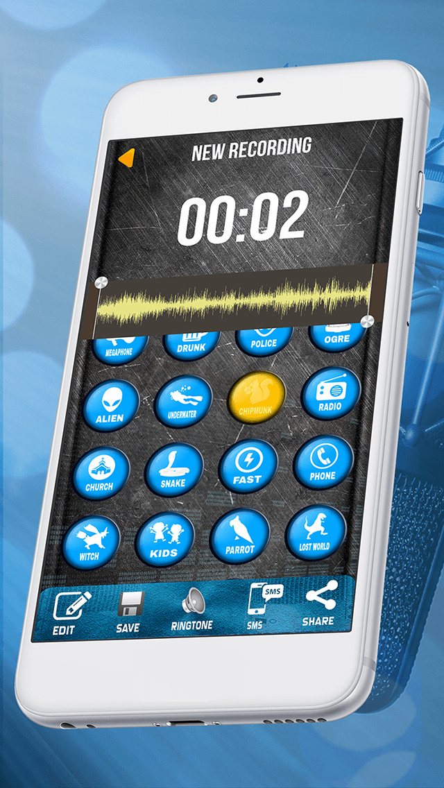 Voice Changer Audio Booth – Get Free Sound Record er & Generator