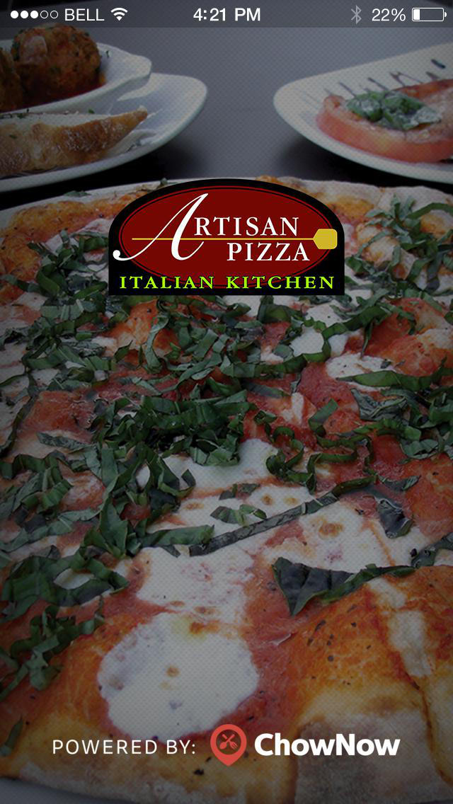 Artisan Pizza Italian Kitchen screenshot 1