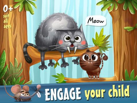 Creature Seekers: Prehistoric Era HD - Little Giant Talking Dino screenshot 6