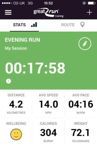 Great Run Training – GPS Training Tracker - náhled
