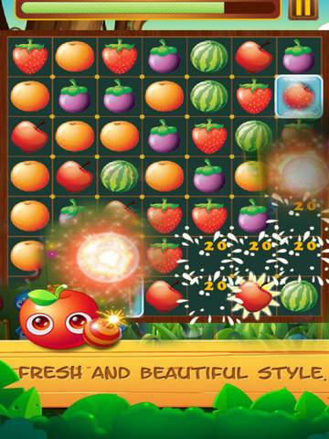 Fruit Star Crush - Match Free screenshot 5