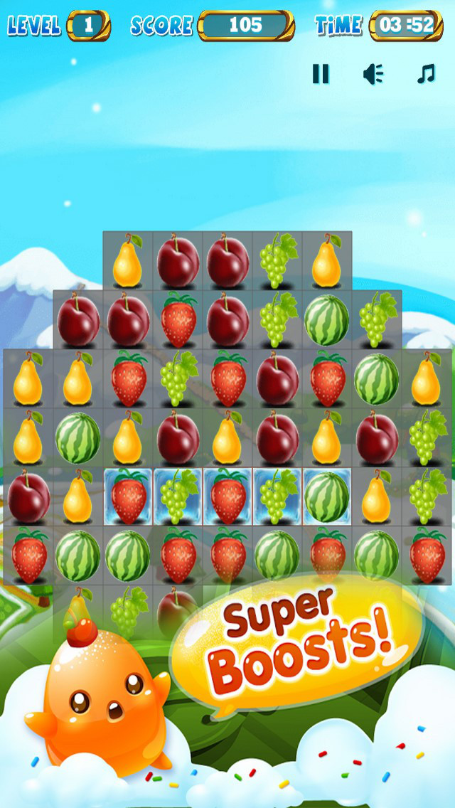 Amazing Fruits: Sweet Mania Game screenshot 2