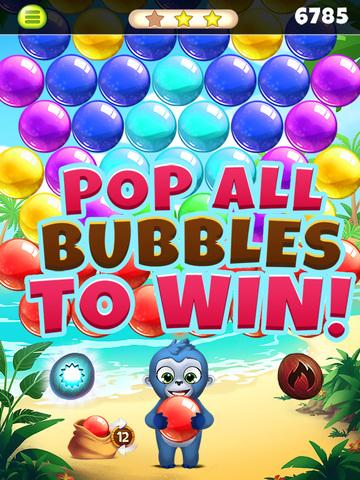 Jungle Party Bubble Shooter screenshot 10
