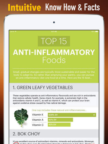 Food Guide for Anti Inflammatory :Disease Diet and Recipes screenshot 6