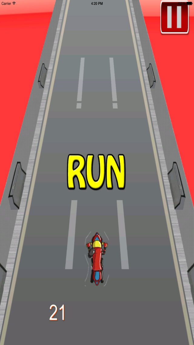 A Moto Bike Race - Clash of Ninja Temple Racing Chase screenshot 5