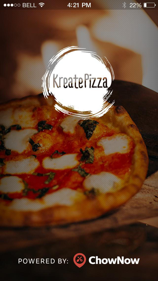 Kreate Pizza screenshot 1