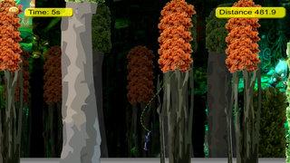 A Monster Shadow Rope Pro - Ninja Castle Escape Jump screenshot 3