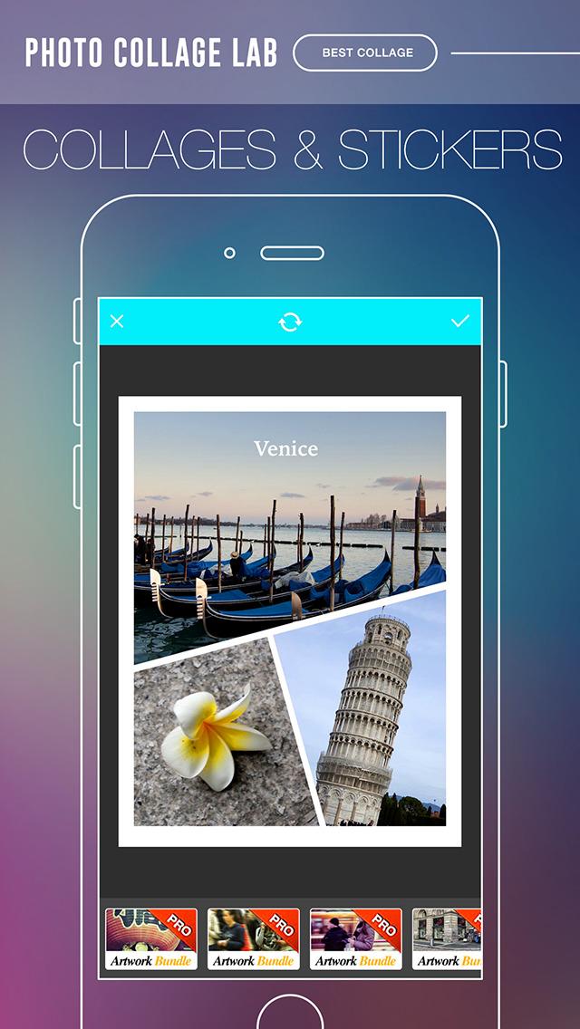 Photo Collage Lab - photo collage maker, selfie editor & camera blender screenshot 4