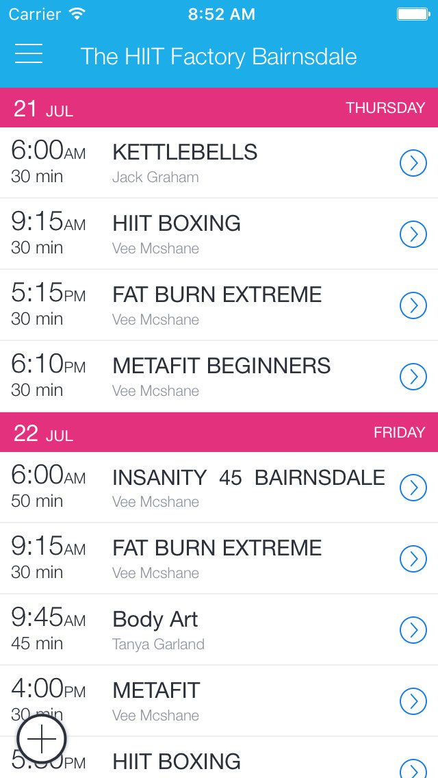 The HIIT Factory Bairnsdale screenshot 1