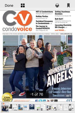 Condo Voice Magazine - náhled