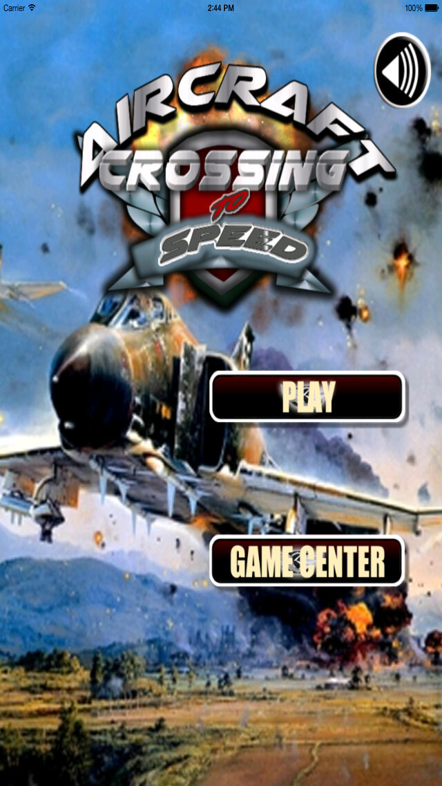 Aircraft Crossing To Speed - Top Best Flying Games screenshot 1