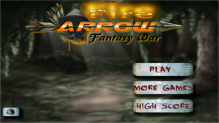 Fire Arrow Fantasy War Pro - Archery Master 3D Game screenshot 1