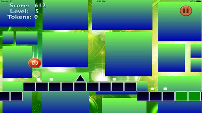 Neon Jump Geometry - Temple Of Ball And Block screenshot 4