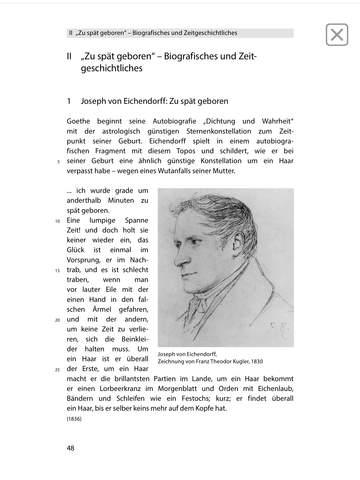 Das Marmorbild -  Edition.Hörbuch  Deutsch-Lektüren zum Lesen und Hören von Klett für Oberstufe und Abitur mit Zusatzmaterialien screenshot 5