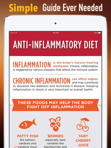 Food Guide for Anti Inflammatory :Disease Diet and Recipes screenshot 7