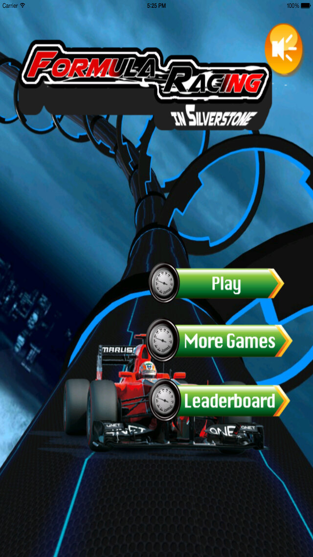 A Formula Racing In Silverstone - Amazing Car Game screenshot 1