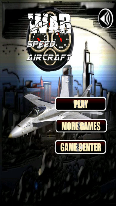 A War Speed Aircraft - Aircraft Simulator screenshot 1