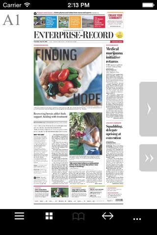 Chico Enterprise Electronic Newspaper - náhled