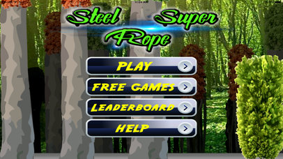 A Steel Super Rope - Awesome Swing and Fly screenshot 1