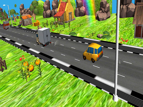 Fast Car Racing : Driving Baby Free Game screenshot 4