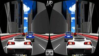 VR Highway Traffic Racing Fever screenshot 5
