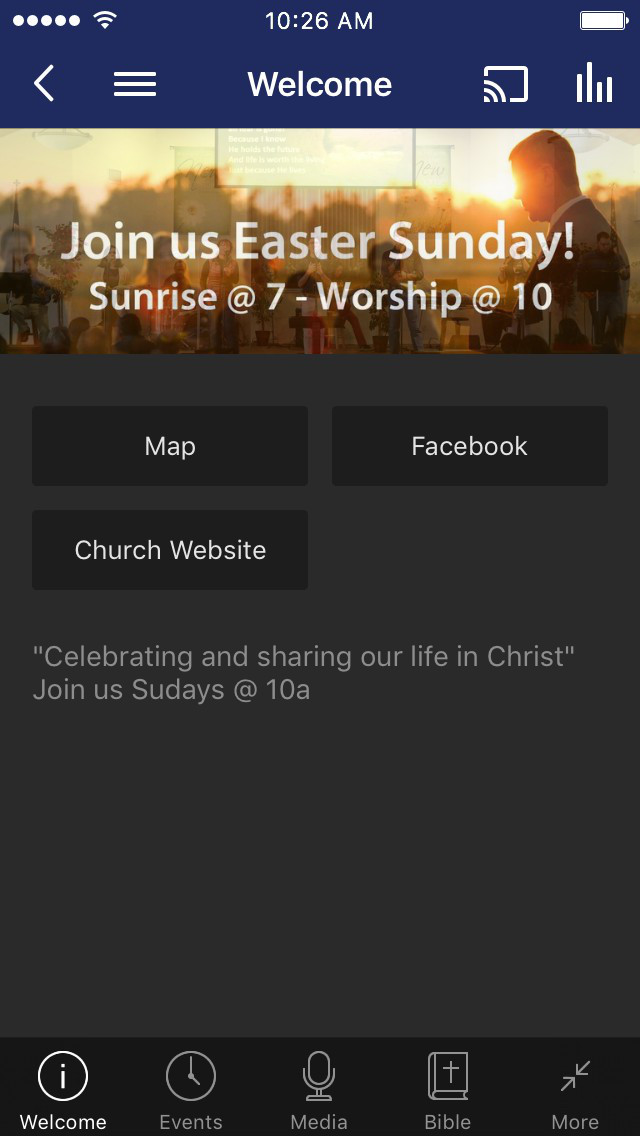 Valley Bible Church of Merced screenshot 1
