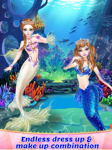 Mermaid Princess Spa & Dressup screenshot 10