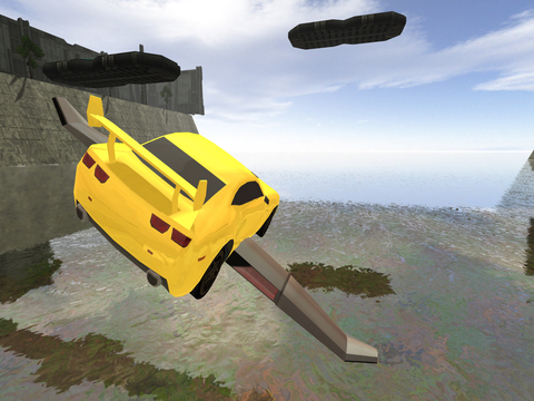 3D Flying Car Parking Simulator: eXtreme Racing, Driving and Flight Game Free screenshot 8