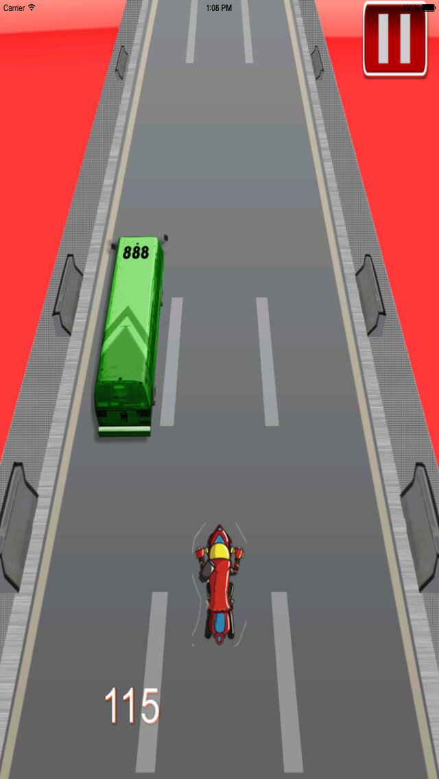 A Powerful Motorcycle On The Road - Fast Motorcycles Games screenshot 3