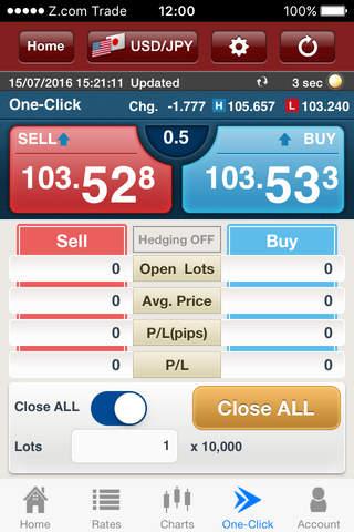 Z.com Trader Mobile HK - náhled