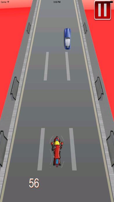 Amazing Night Motorcycle - Bike Game screenshot 4