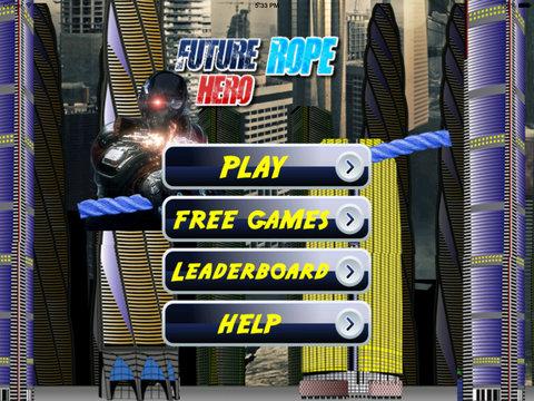 Future Rope Hero - Holy Adventure Swing screenshot 6