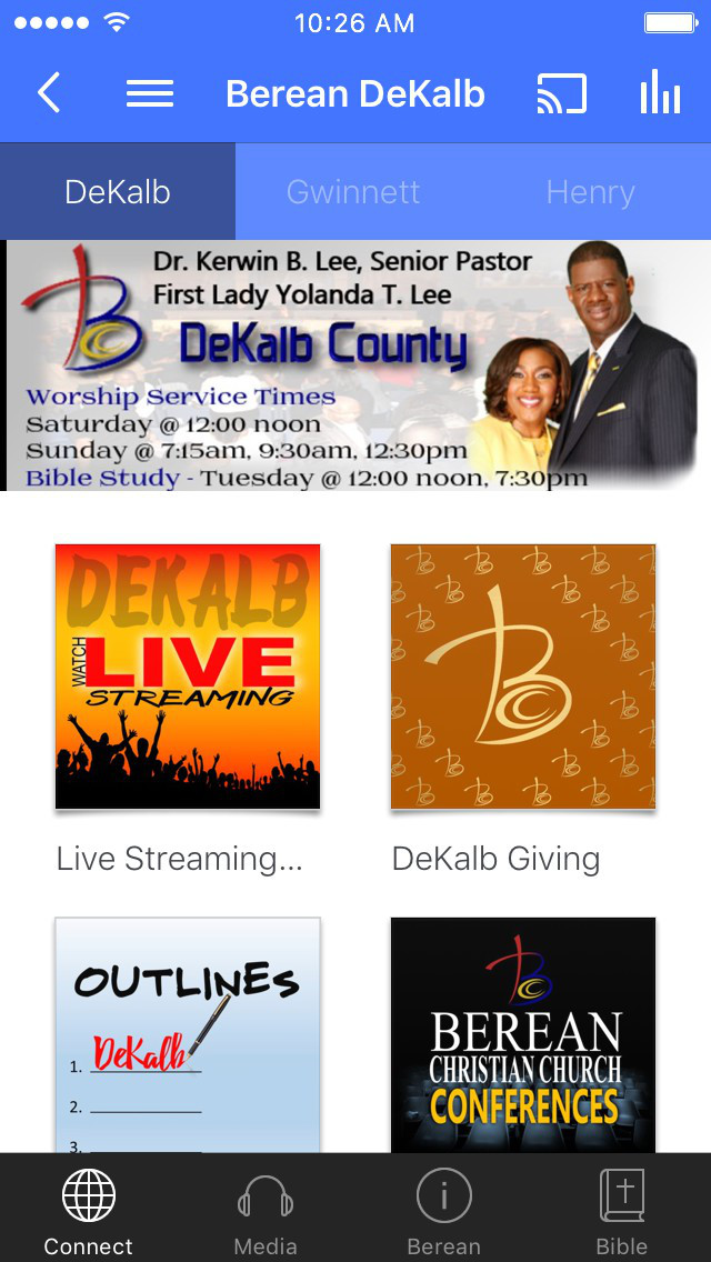 Berean Christian Church screenshot 1