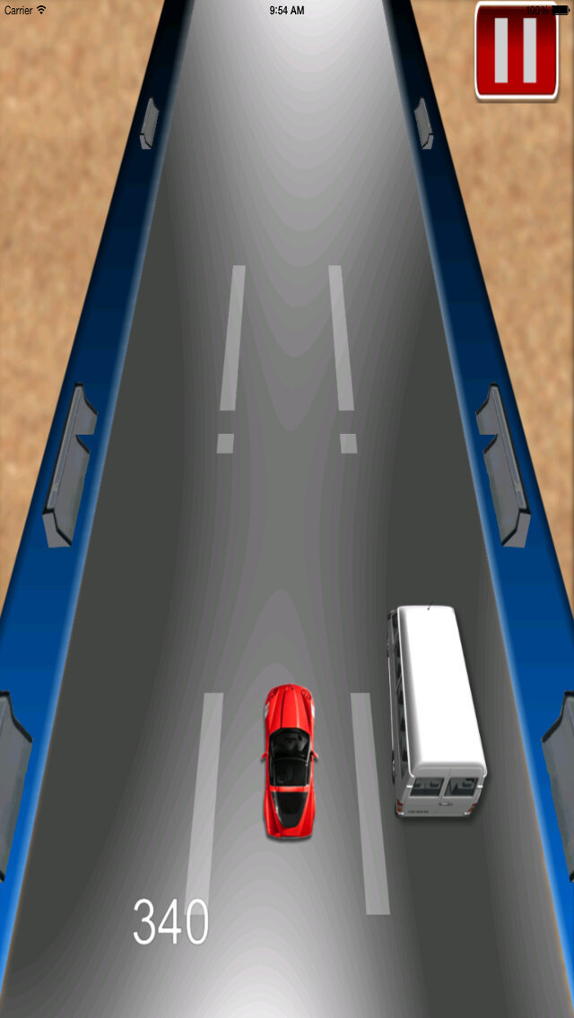 Car Driving Chase - Racing Rush Simulator Game screenshot 5