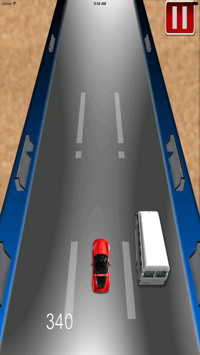 Car Driving Chase - Racing Rush Simulator Game screenshot 5