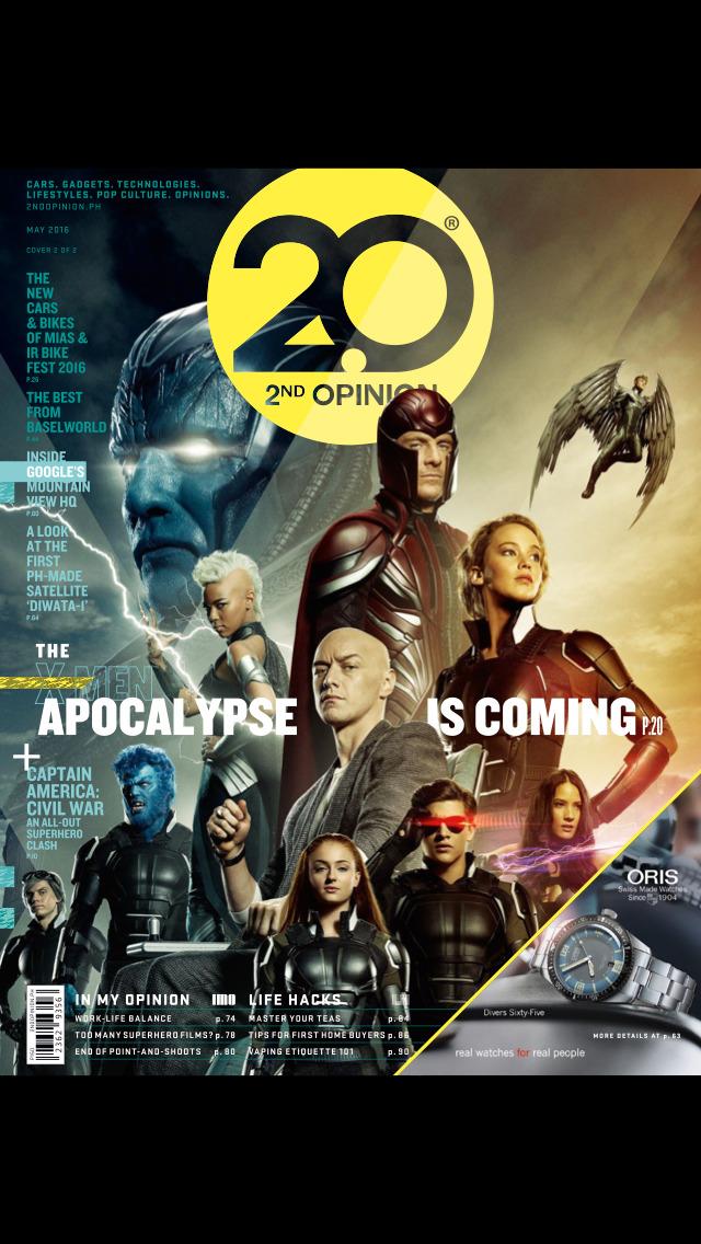 2nd Opinion Magazine screenshot 1