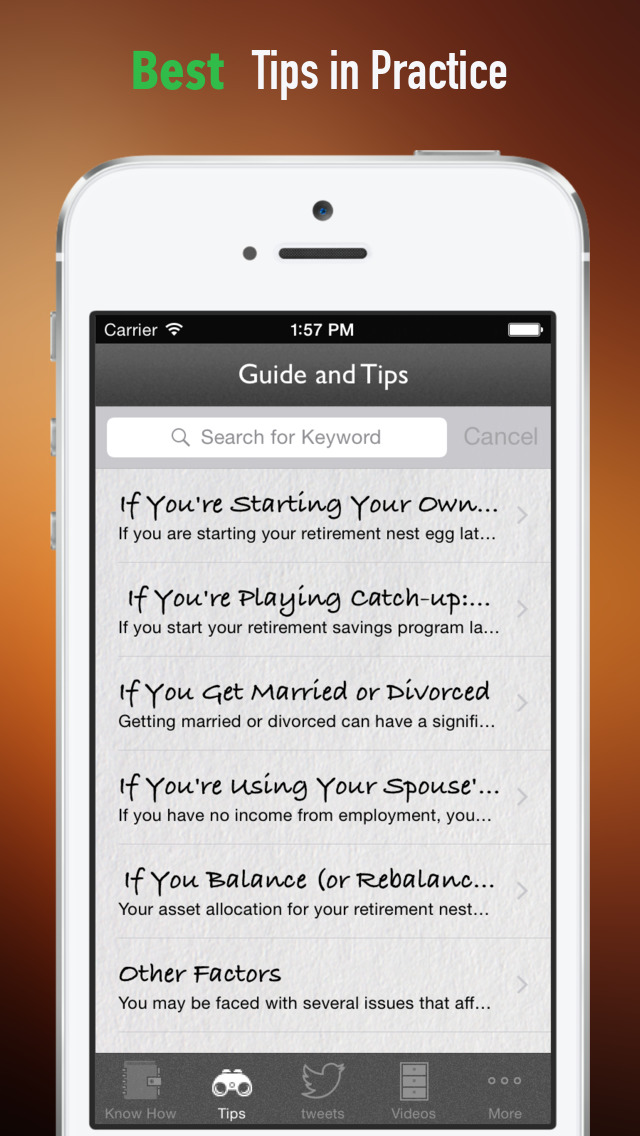 Retirement Savings Guide:Tips and Tutorial screenshot 4