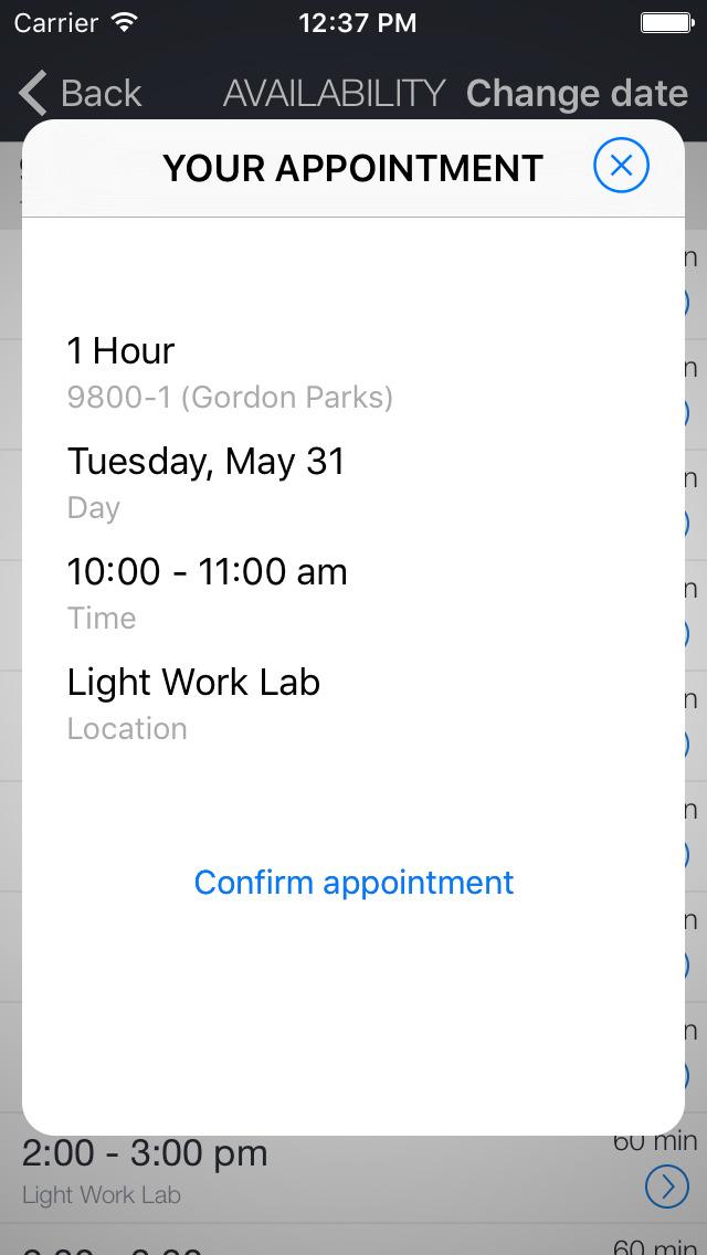 Light Work Lab screenshot 2